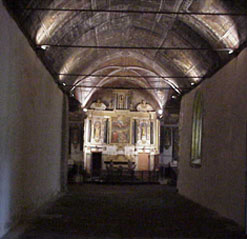 Large view of the nave vault